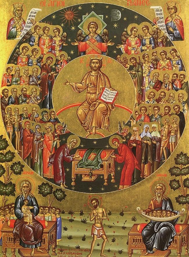 Ομιλία στο ευαγγέλιο της Κυριακής των Αγίων Πάντων, του μακαριστού Μητροπολίτου Νικοπόλεως π. Μελετίου Καλαμαρά