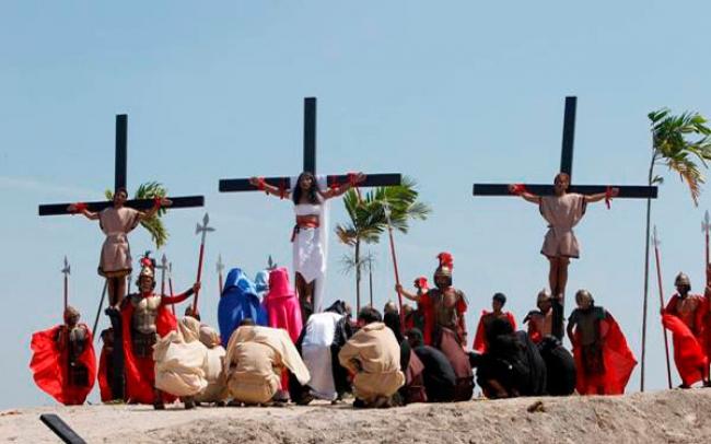 Δεκάδες πιστοί «σταυρώθηκαν» σήμερα, Μεγάλη Παρασκευή των καθολικών στις Φιλιππίνες