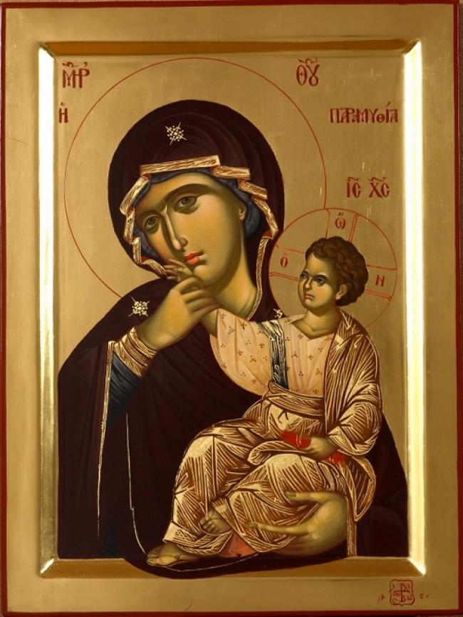 O Άγιος Γέροντας Παΐσιος για την Παναγία