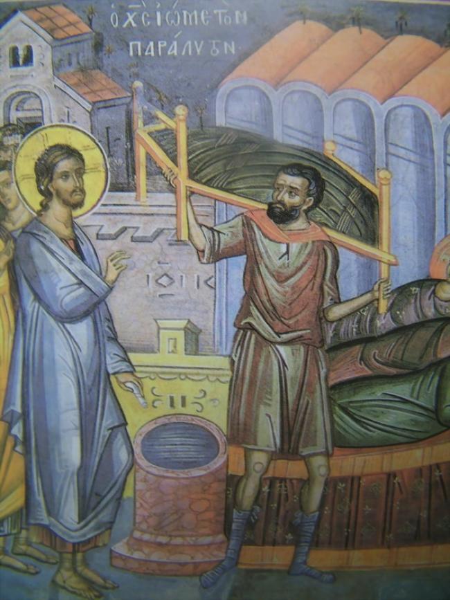 Ομιλία στο ευαγγέλιο της Κυριακής του Παραλύτου, του μακαριστού Μητροπολίτου Νικοπόλεως π. Μελετίου Καλαμαρά