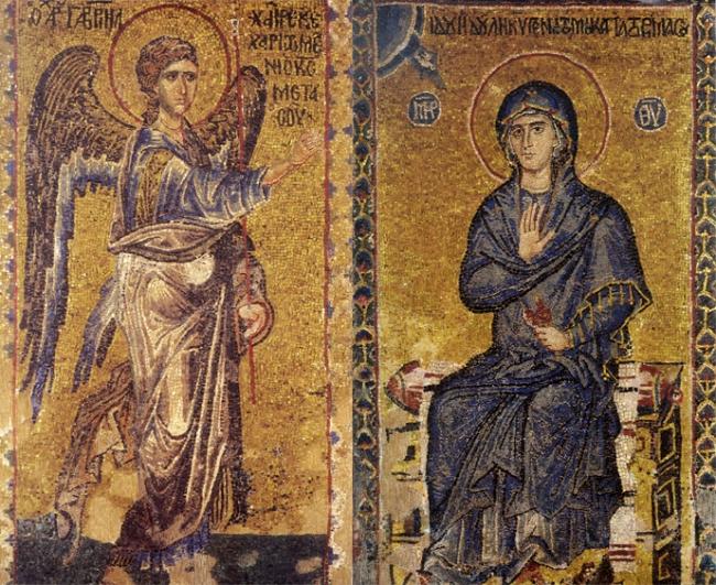 Η σύλληψη του Ιησού από την Παρθένο Μαρία