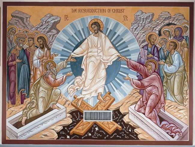 Η Ανάσταση του Χριστού ανάσταση μας