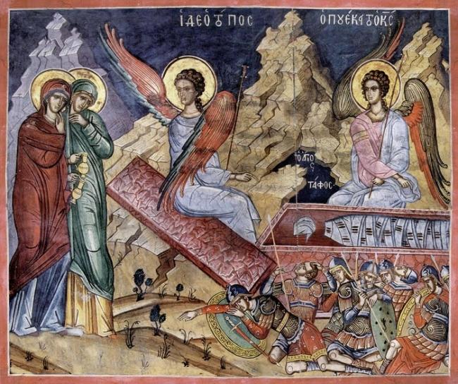 Ομιλία στο ευαγγέλιο της Κυριακής των Μυροφόρων, του μακαριστού Μητροπολίτου Νικοπόλεως π. Μελετίου Καλαμαρά