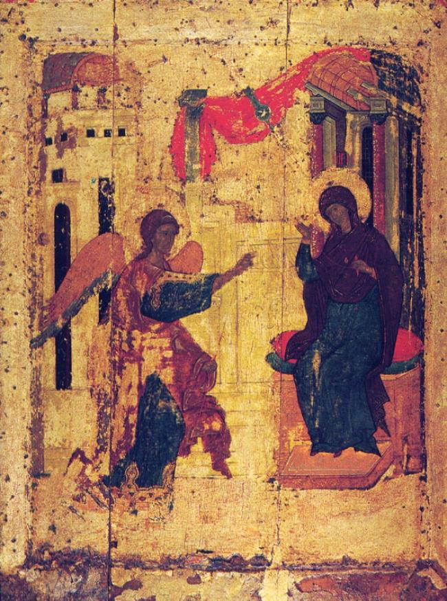 «Σήμερον της σωτηρίας ημών το κεφάλαιον»! (θεολογικό σχόλιο στην εορτή του Ευαγγελισμού της Θεοτόκου)