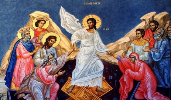 (Βίντεο) Ανάστα ο Θεός - Ι. Ν. Ευαγγελιστρίας Ακλειδιού Μυτιλήνης - Πάσχα 2015