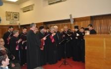 (Βίντεο) Ύμνοι από τον Βυζαντινό χορό της Πολυφωνικής χορωδίας Πατρών στην εκδήλωση του Παραρτήματος Πατρών της ΠΕΘ για την Κυριακή της Ορθοδοξίας