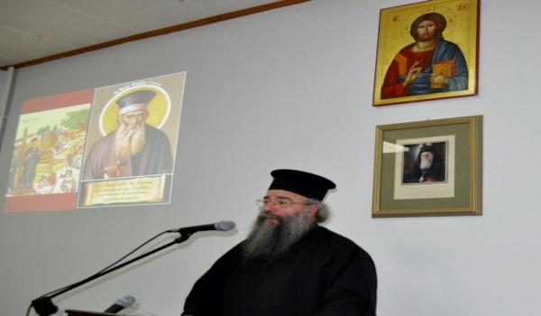 (Βίντεο) π. Χρυσόστομος Μαιδώνης - Παρουσίαση με φωτεινές διαφάνειες σε ομιλία για τον Άγιο Κοσμά τον Αιτωλό -