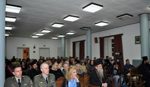 (Βίντεο) Ο Π. Τσαγκάρης, Γ. Γραμματέας ΠΕΘ στην εκδήλωση για τον Άγιο Κοσμά τον Αιτωλό - 14/3/2015