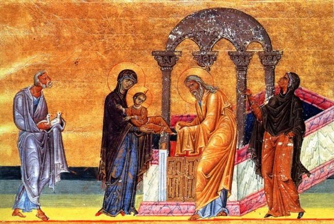 Ομιλία στην  Υπαπαντή του Χριστού, του μακαριστού Μητροπολίτου Νικοπόλεως π. Μελετίου Καλαμαρά